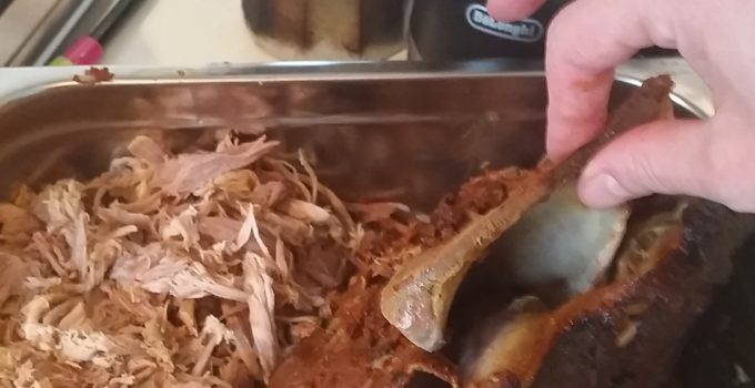 Slow Cooked Pulled Pork & Lamb